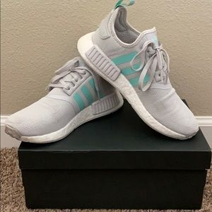 Grey/mint adidas NMD